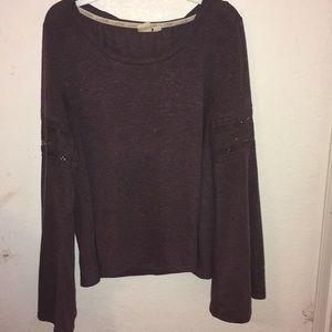 Long sleeve purple/mauve shirt